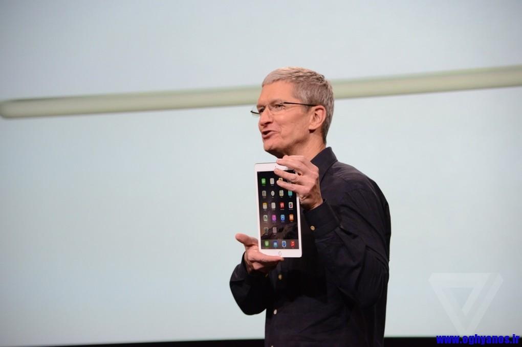 ایپد ایر 2 اپل ( iPad Air 2) نازک ترین تبلت دنیا
