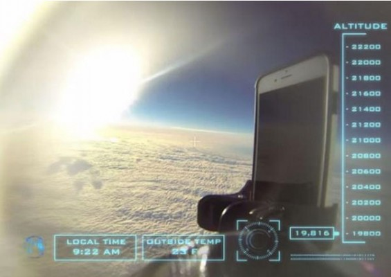 تست سقوط آیفون ۶ از فضا را مشاهده کنید!
