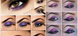 1434927491881 272x125 - آموزش تصویری آرایش چشم به رنگ بنفش