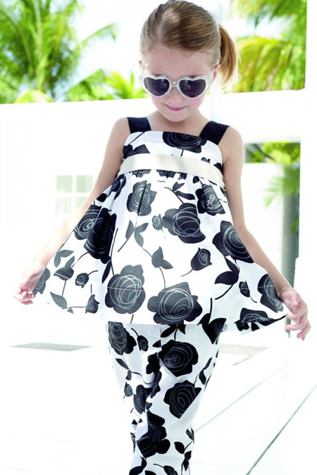 مدل لباس بهاره و تابستانه دخترانه برند Monnalisa