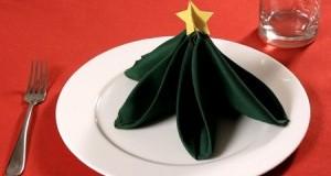 مدلهای تزیین دستمال برای کریسمس