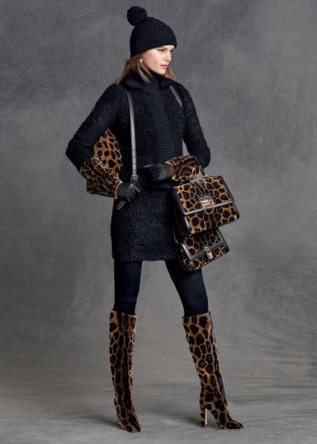 مدلهای لباس زنان زمستانه برند دی اند جی D&G