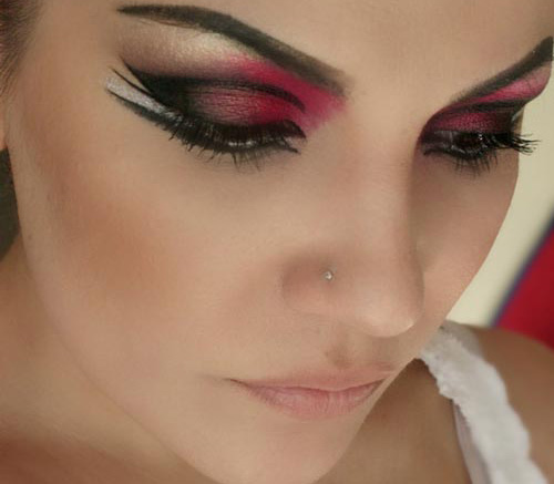 مدل های جدید آرایش صورت برای مهمانی