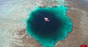 عمیق ترین غار زیر دریایی جهان در چین