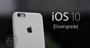 تغییر iOS 10 به iOS 9 چطور انجام میشود