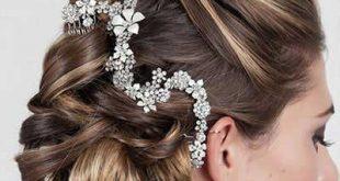 شنیون مو برای عروس