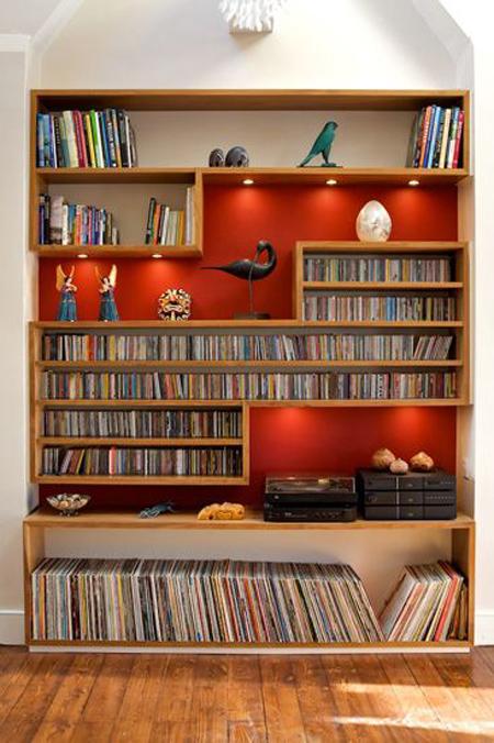 mo28701 - طراحی و مدل های کتابخانه در خانه