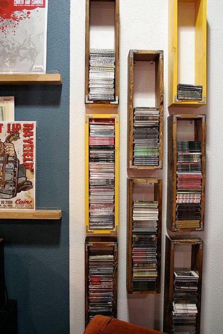 طراحی جدید کتابخانه خانگی, چیدمان کتاب
