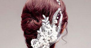 گل سرهایی مناسب عروسی و شینیون