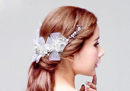 مدل گیر شینیون,جدیدترین گل سر
