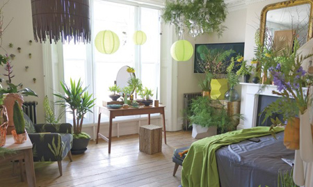 mo28917 - طراحی اتاق خواب به شکل طبیعت