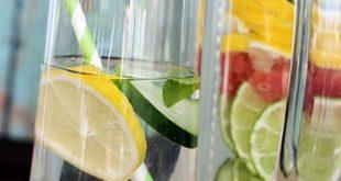 روش تهیه دتاکس واتر نوشیدنی با میوه های طبیعی