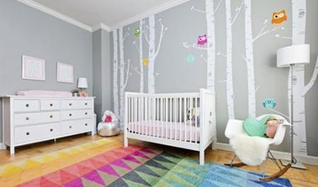 دکوراسیون و چیدمان اتاق نوزاد, طراحی اتاق نوزاد