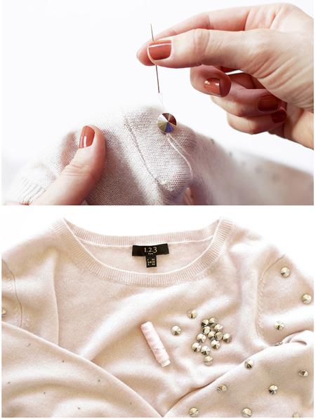 آموزش تزیین لباس های ساده,آموزش مرحله ای تزیین لباس های ساده