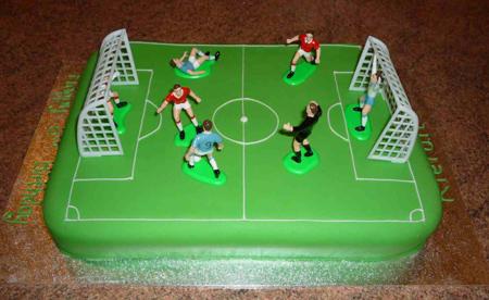 کیک ویژه تولد,کیک فوتبال مخصوص فوتبال