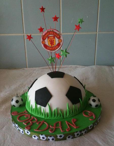 مدل کیک فوتبالی,کیک تولد با تم فوتبال