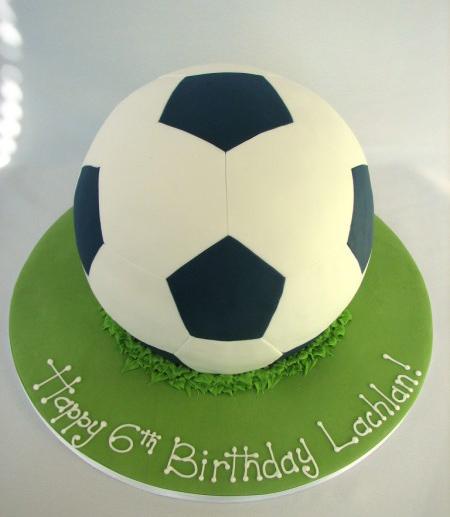 کیک فوتبال مخصوص تولد,مدل کیک فوتبالی