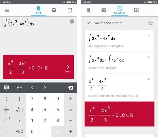 4 1 - حل مسائل ریاضی با دوربین با اپلیکیشن Photomath +دانلود