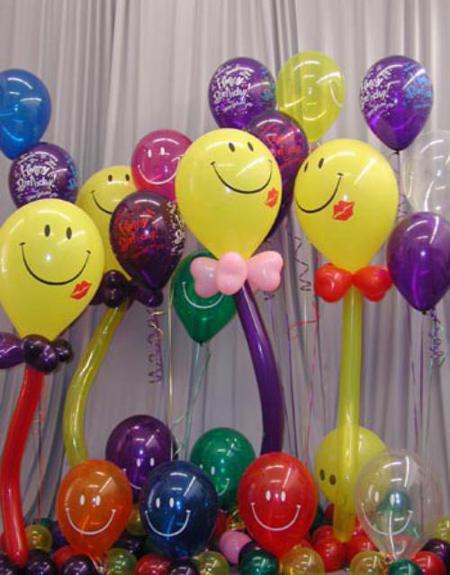 آموزش بادکنک آرایی, بادکنک آرایی جشن تولد