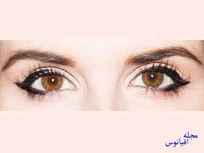 خط چشم های رنگی،انتخاب خط چشم رنگی