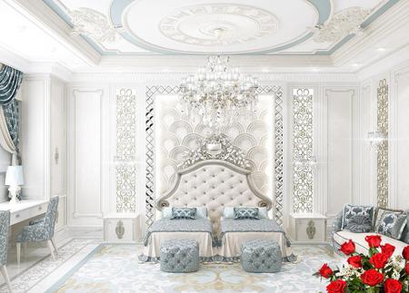 bedroom4 decoration1 - اتاق خواب های سلطنتی چگونه هستند