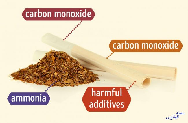 ضرر انواع سیگار پیپ قلیان ویپینگ