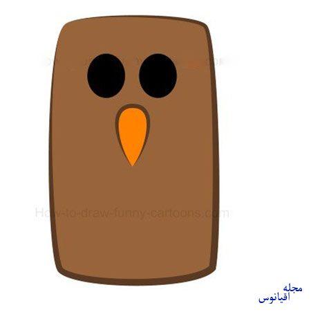 ba4591 3 - آموزش تصویری نقاشی خفاش