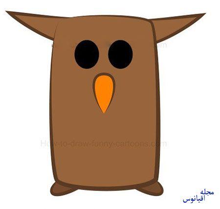 ba4591 4 - آموزش تصویری نقاشی خفاش