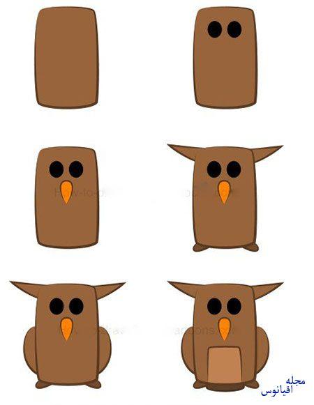 ba4591 7 - آموزش تصویری نقاشی خفاش