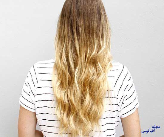 2 2 - چند مدل موی راحت و  زیبا
