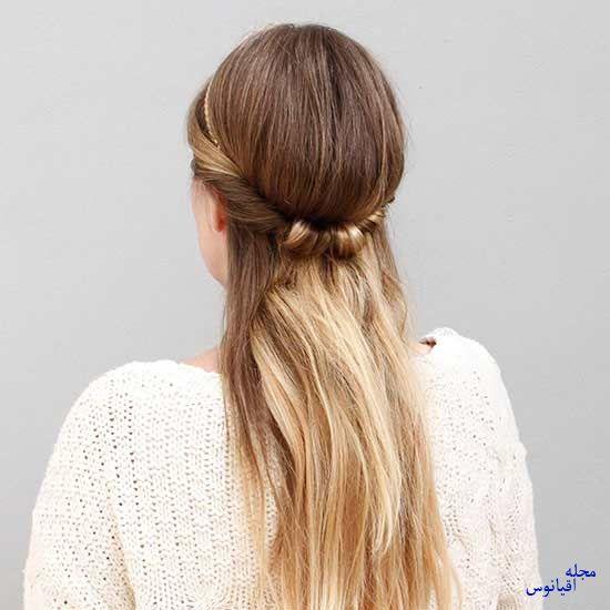 3 2 - چند مدل موی راحت و  زیبا