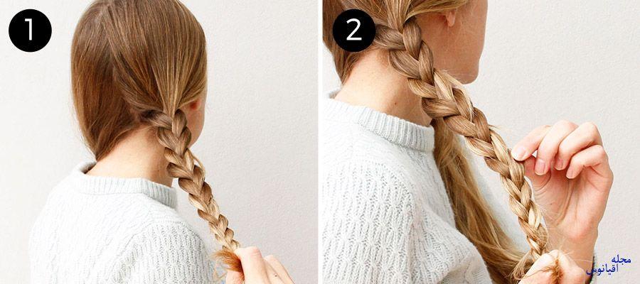 4 1 1 - چند مدل موی راحت و  زیبا