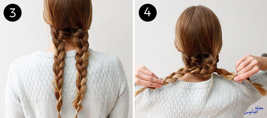 4 2 - چند مدل موی راحت و  زیبا