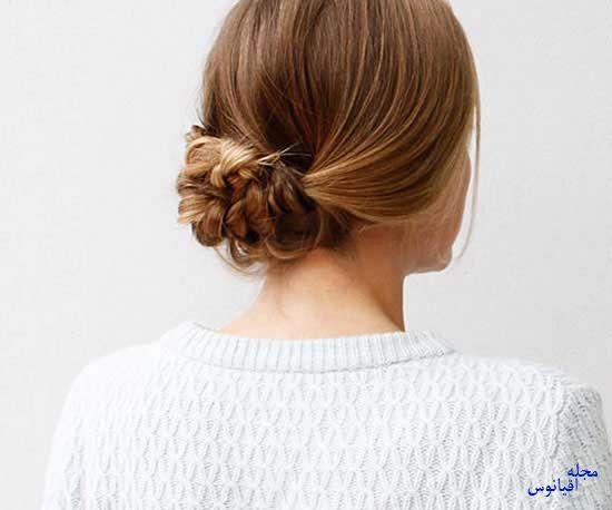 4 4 - چند مدل موی راحت و  زیبا