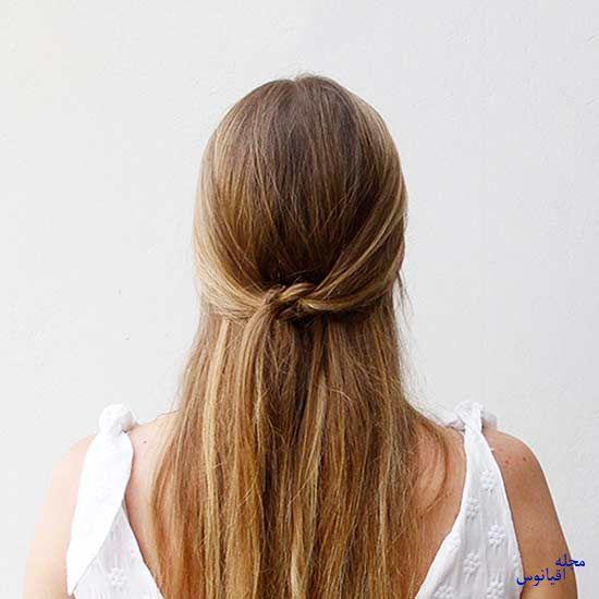 5 1 - چند مدل موی راحت و  زیبا