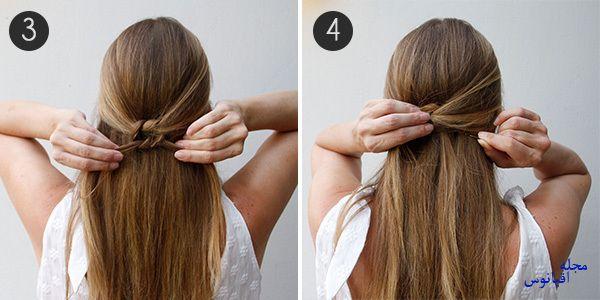 5 2 - چند مدل موی راحت و  زیبا