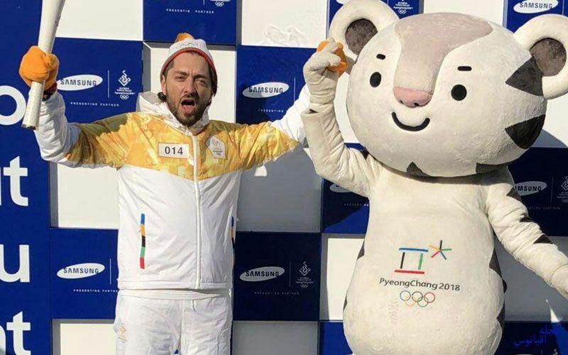بهرام رادان در المپیک زمستانی