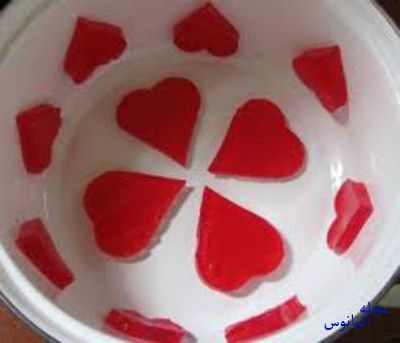 ژله قلبی,طرز تهیه ژله قلبی