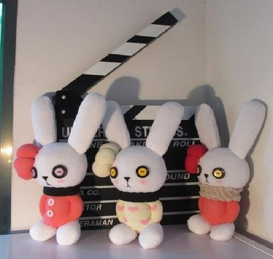 عکس عروسک جورابی خرگوش
