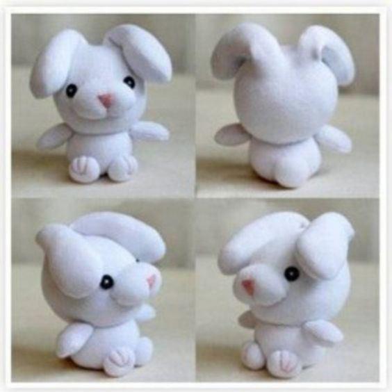 عکس عروسک جورابی خرگوش فانتزی