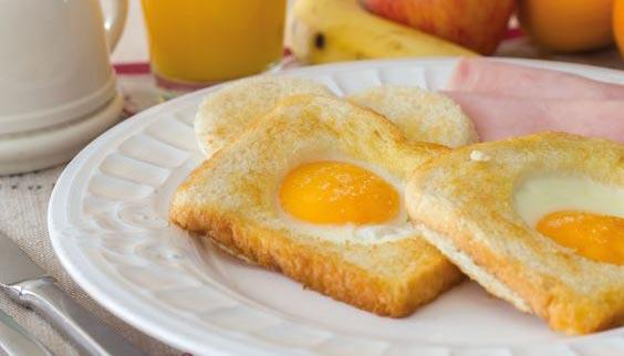 عکس درست کردن تست تخم مرغ