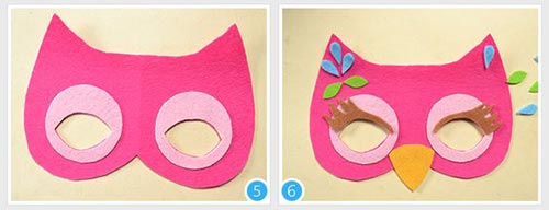 144251 571 - آموزش تصویری ساخت 3 مدل ماسک بالماسکه کودکانه