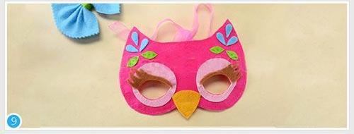 144252 323 - آموزش تصویری ساخت 3 مدل ماسک بالماسکه کودکانه