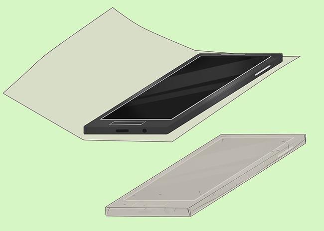 عکس روش ساخت قاب گوشی با چسب حرارتی