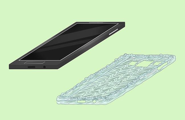 عکس ساخت قاب گوشی با چسب حرارتی
