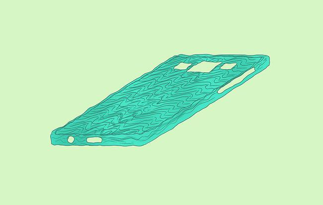 عکس مدل قاب گوشی با چسب حرارتی
