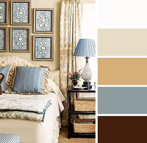 پیشنهادهای رنگی برای دکوراسیون اتاق خواب