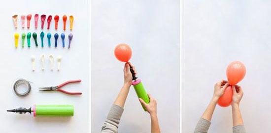 آموزش 3 مدل بادکنک آرایی برای جشن ها