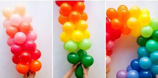 109467 513 - مدلهای مختلف تزیین بادکنک برای جشن ها