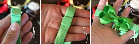 عکس ساخت تل کشی مدل پاپیون